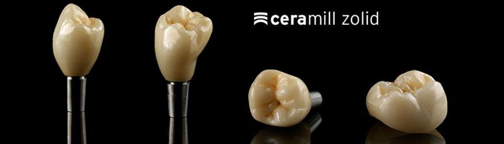 ưu nhược điểm của răng sứ Ceramill Zolid